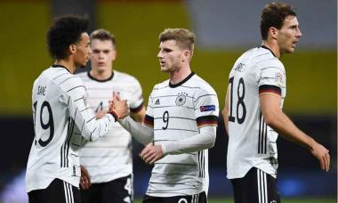 Foto- Alemania venció a Ucrania en Leipzig y se subió a lo más alto de su grupo faltando una fecha..jpg