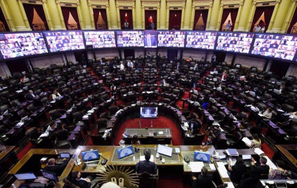 Diputados debate el Presupuesto 2021 y el aporte solidario