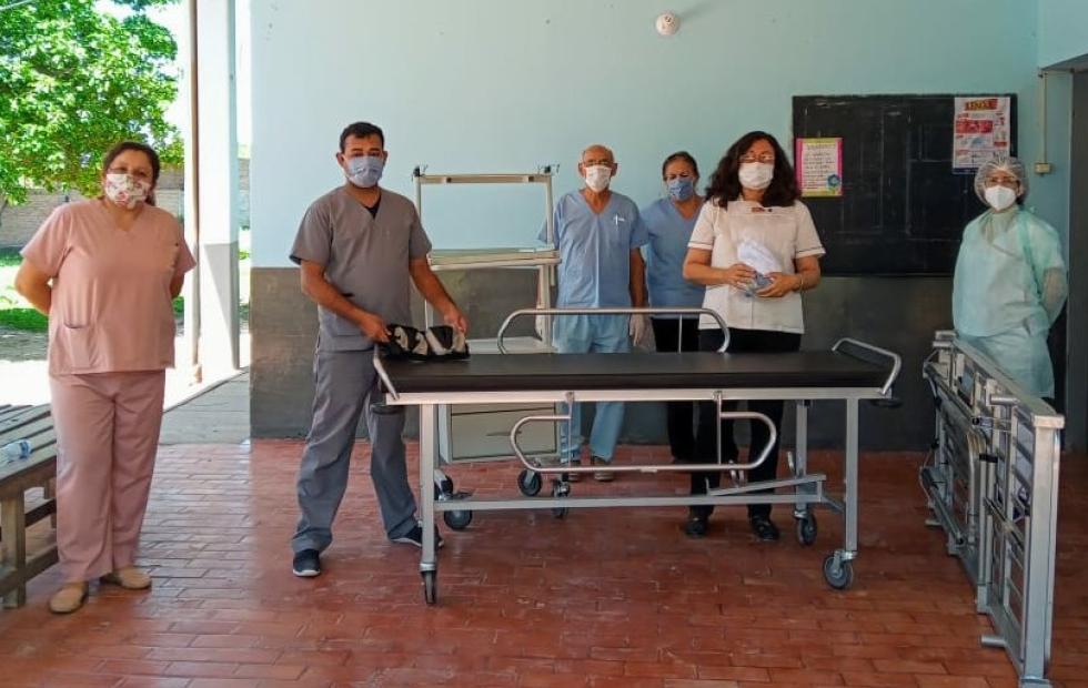 Inversión del Estado provincial para continuar fortaleciendo el sistema de salud en Pastoril