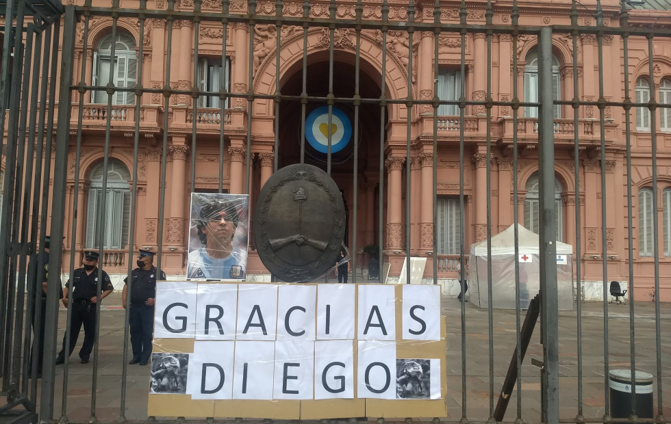 Cómo será el velorio de Diego Maradona en la Casa Rosada