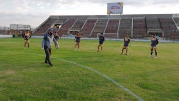 Foto- Sarmiento de Resistencia regresó a los entrenamientos.jpg