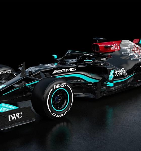 Mercedes Benz presentó el modelo 2021 que usará Hamilton