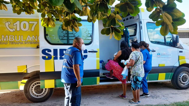 Menor hallada por la Policia en barrio Parque Urbano I (2).jpg