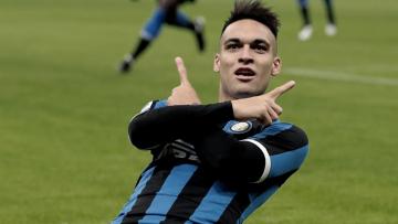 Foto- El argentino anotó doblete ante su clásico rival en el Calcio italiano..jpg