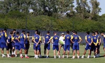 Boca prepara su debut en medio de lesiones y la ausencia de Tevez