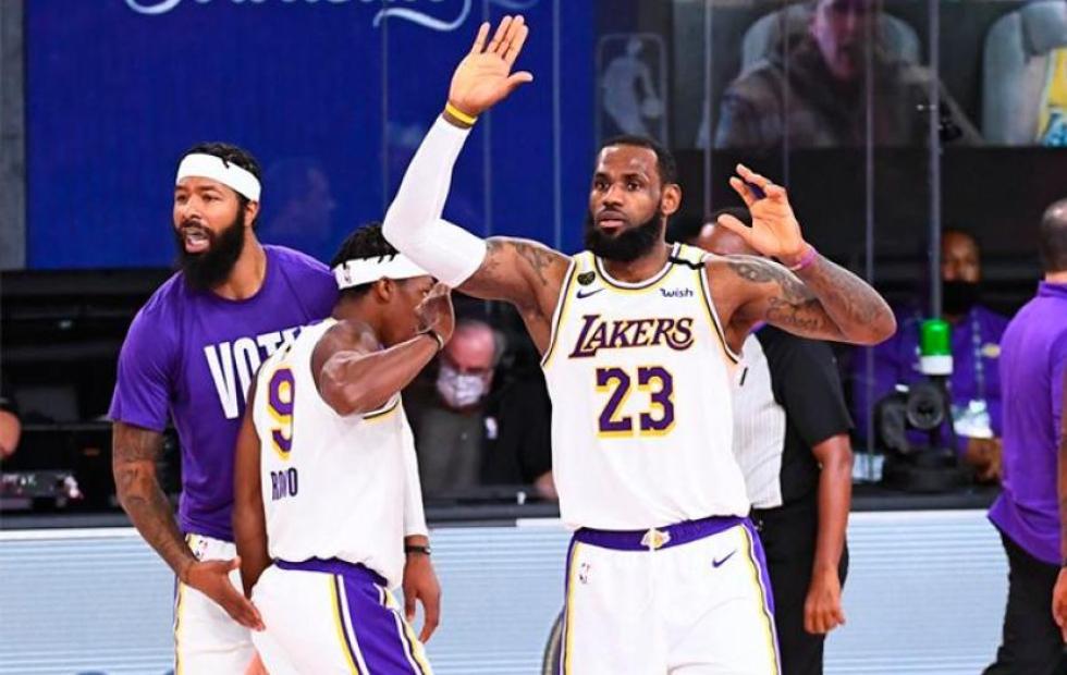 Los Ángeles Lakers derrotaron a Miami Heat y se consagraron campeones