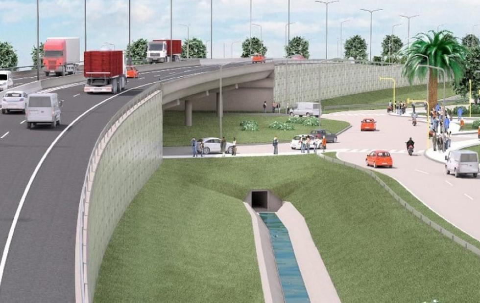 Insfrán anunció llamado a licitación para construcción del viaducto sobreelevado