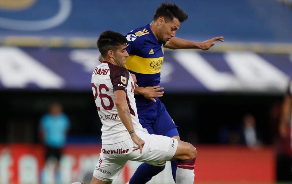 Lanús venció a Boca que otra vez sufrió el golpe en la Bombonera
