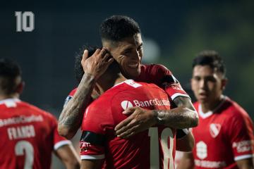 Foto- Victoria del Rojo que se acerca a la otra instancia en la Copa Sudamericana.jpg