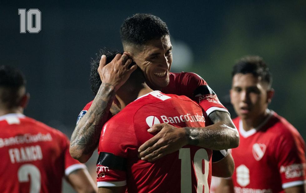 Independiente goleó de visitante y se acerca a los cuartos de final
