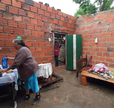 Asisten a vecinos afectados por el último temporal