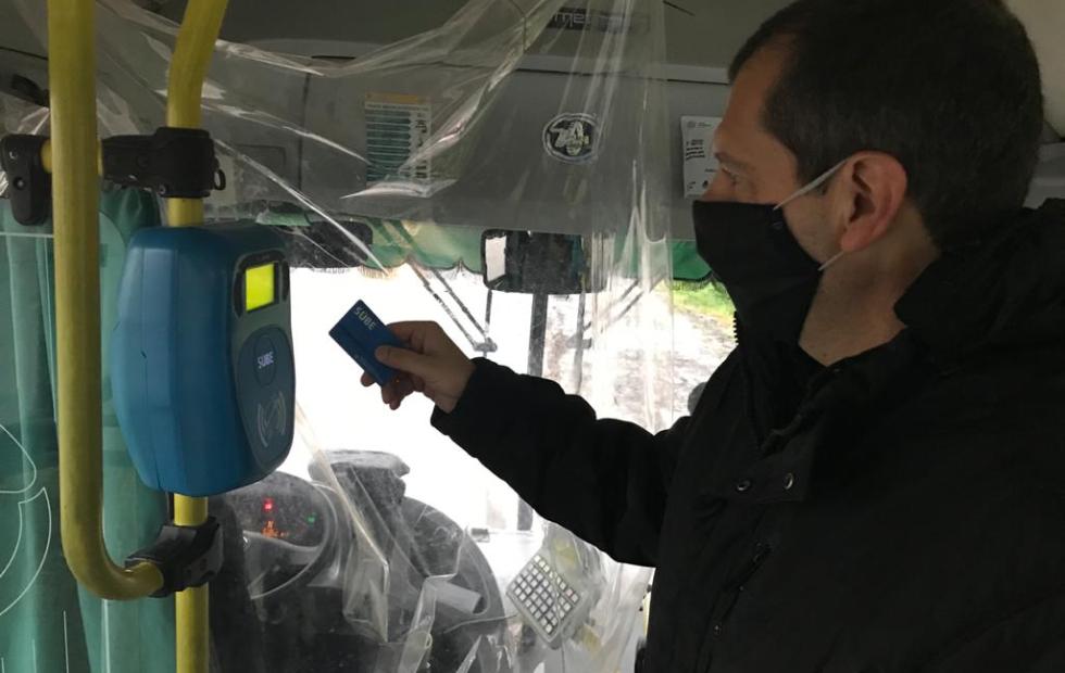 Olivera exigió duplicar el subsidio al transporte para paliar la angustia del usuario