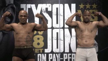 Foto- En una pelea de exhibición y a ocho asaltos Tyson enfrenta a Jones.jpg