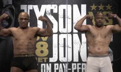 Mike Tyson regresa al ring tras 15 años ante el tetracampeón Jones