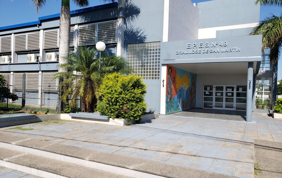 """La EPES 49 """"Gral San Martín"""" de Clorinda sería utilizada para centro de aislamiento"""