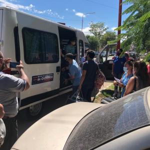 Un nuevo grupo de alumnos universitarios partió desde la ciudad de Clorinda