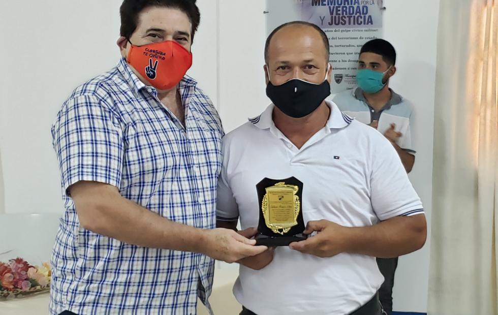 El municipio de Clorinda reconoció a  empleados municipales por su antigüedad
