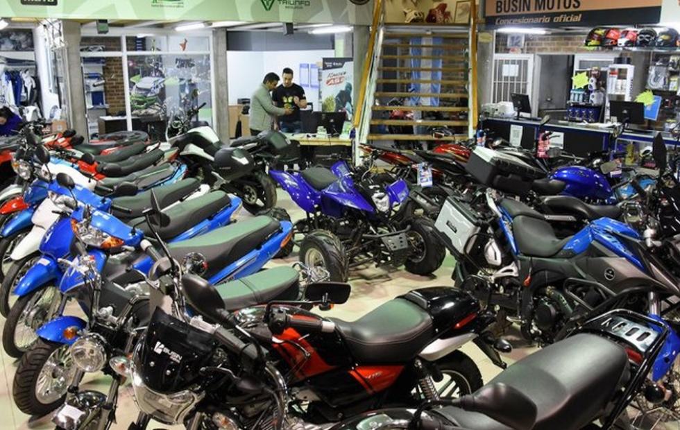Hay apenas 6 mil motos en todo el país para la compra con créditos del Banco Nación
