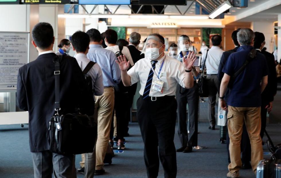 Japón descubrió una tercera mutación de  coronavirus en viajeros procedentes de Brasil