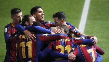 Foto- El equipo Culé llegó a la final gracias los penales ante la Real Sociedad..jpg
