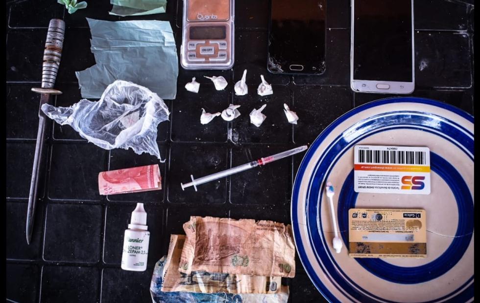 Desarticulan otro centro de distribución  de drogas