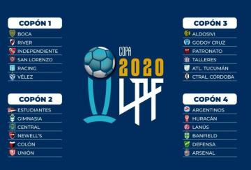 Foto- Copones para el sorteo de la Liga Profesional de Fútbol..jpg