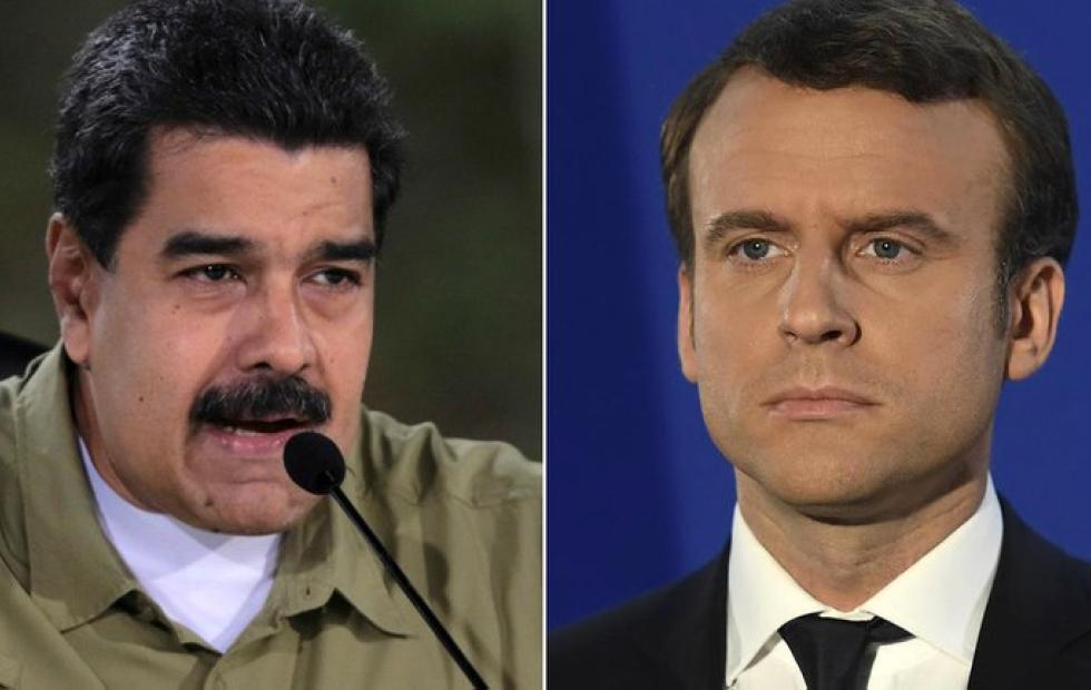La dictadura de Maduro enfureció con Emmanuel Macron por la emotiva carta que escribió por la muerte de Maradona