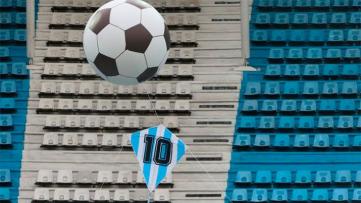 Foto- Homenaje a Diego Maradona en el Cilindro de Avellaneda..jpg