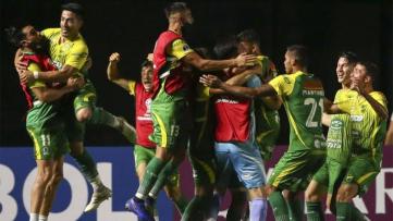 Foto- El equipo de Hernán Crespo ganó de visitante y sigue en carrera en la Copa Sudamericana..jpg