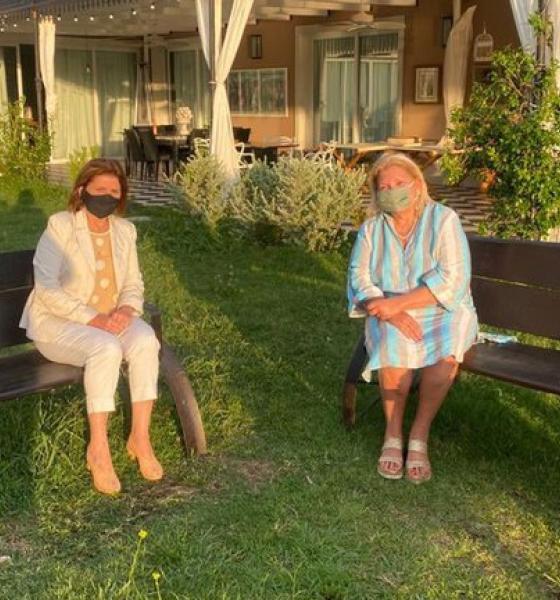 Tras anunciar su candidatura a diputada, Elisa Carrió se reunió con Patricia Bullrich