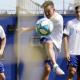 Carlos Tevez se reincorporó a los entrenamientos en Boca