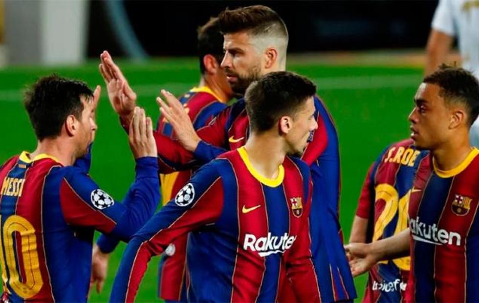 Barcelona debutó con una goleada en la Champions League