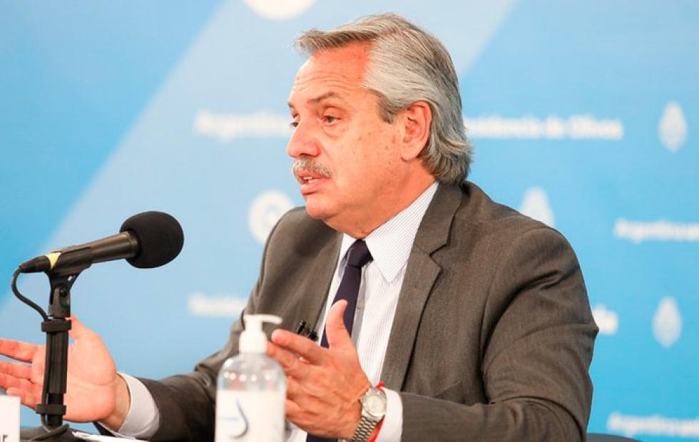 """Alberto Fernández anunció el fin del aislamiento obligatorio en el AMBA: """"Lamentablemente la medida no alcanza a todo el país"""""""