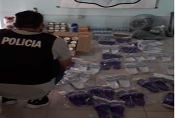 La Polic_a secuestr_ mercader_as sin aval aduanero con un avalu_ de 100.000 pesos.jpg