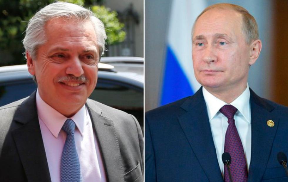 Una comitiva rusa enviada por Putin llega a Buenos Aires para definir el acuerdo con el gobierno argentino