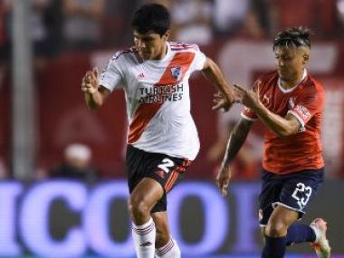 Foto- River se mide ante Independiente en un juego determinante para el equipo de gallardo..jpg