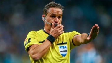 Foto- El árbitro argentino Patricio Lousteau estará dirigiendo la final continental de América..jpg