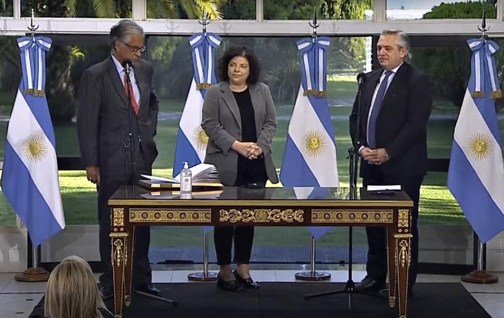 Carla Vizzotti asumió como ministra de Salud tras la escandalosa salida de Ginés González García