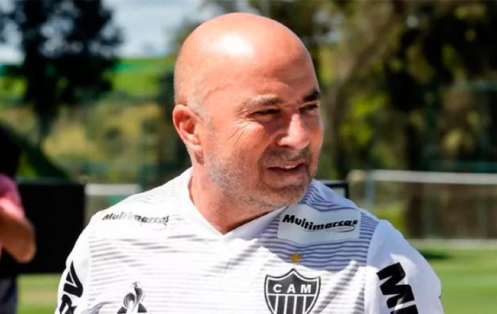 Sampaoli se despidió de Atlético Mineiro con una carta