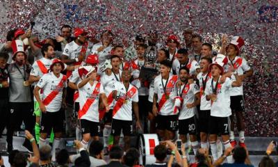 River goleó a Racing y se consagró campeón de la Supercopa Argentina