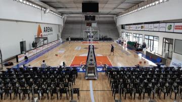 Foto- Estadio Arena de Carlos Paz, era una de las sedes para el inicio de la Liga Nacional..jpg