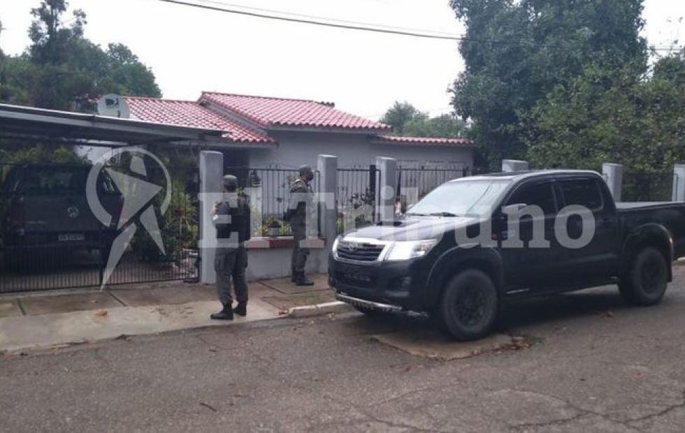 Robo de caños del Gasoducto: allanaron casas tras la detención del exintendente Prado