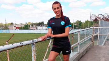 Foto- Mara Gómez pertenece a Villa San Carlos y podrá jugar el campeonato de la Liga femenina de fútbol..jpg