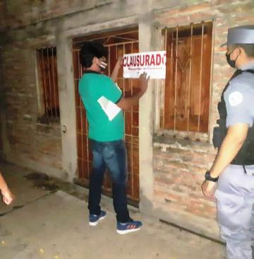 Durante el fin de semana, La Polic_a detect_ 18  fiestas privadas entre otras infracciones .. ..jpg