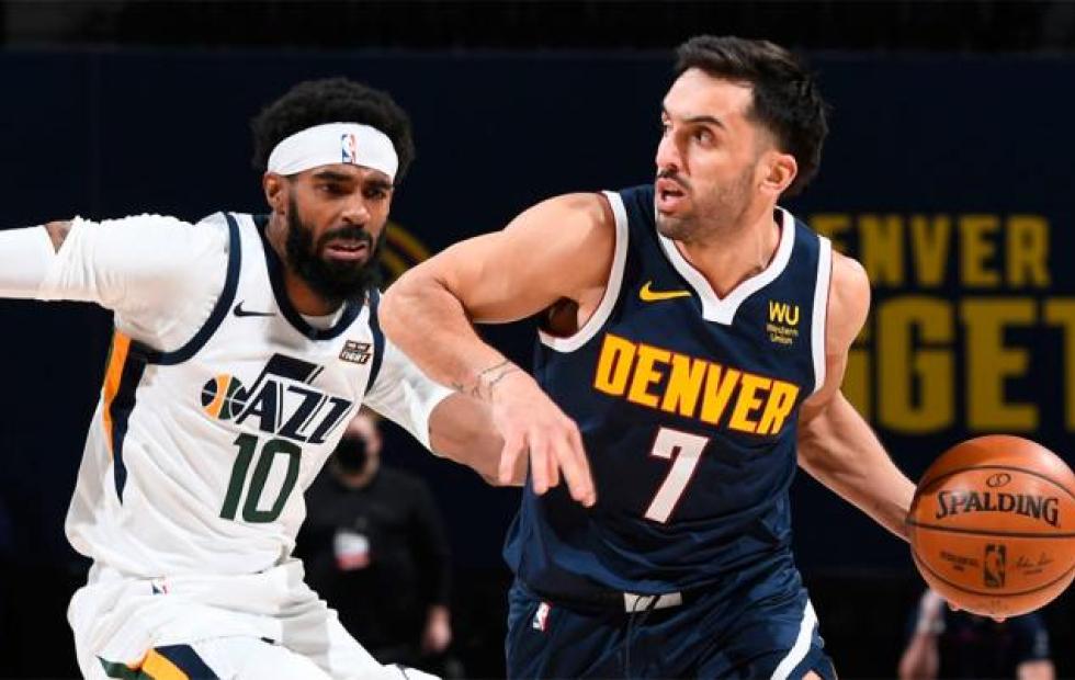 Derrota de Denver Nuggets ante Utah Jazz con poco de