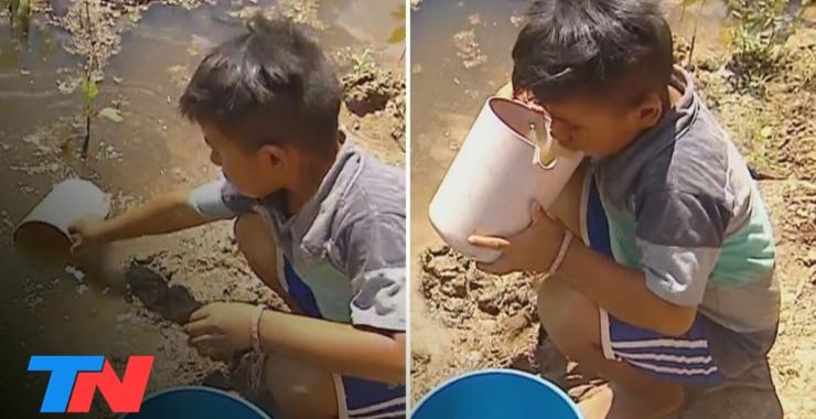 La dura realidad en Formosa: aislados y sin agua potable