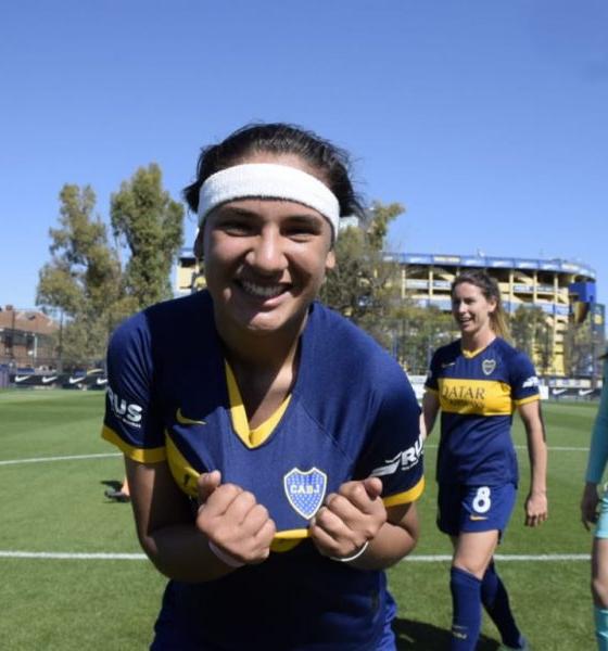 Boca, con Estefanía Palomar, debuta en la Copa Libertadores