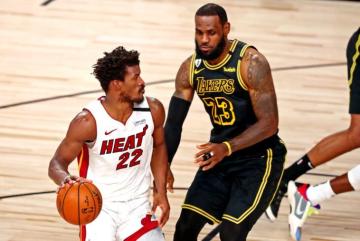 Foto- Victoria de Miami Heat en un reñido quinto juego con gran actuación de Butler..jpg