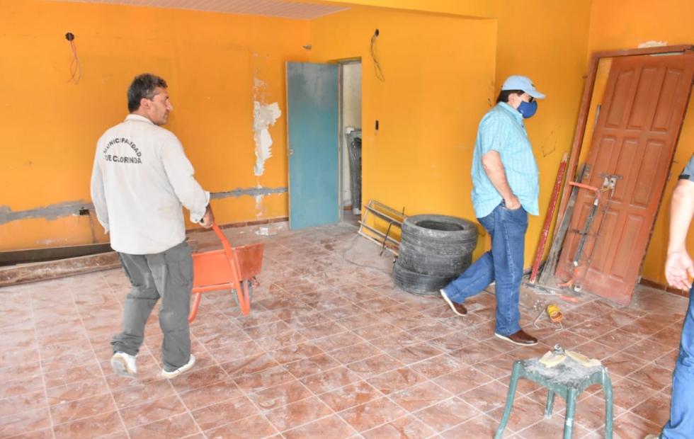 Preparan oficinas para Rentas y Senasa  en zona del Boulevard Larrabure