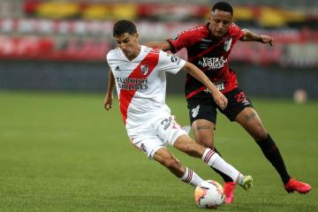 Foto- River quiere sellar su clasificación ante Paranaense tras el empate en la ida..jpg